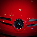 Big Red Smile - Mercedes-benz S L R Mclaren by Serge Averbukh