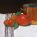 Big Red Tomato by Barbara Andolsek