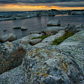 Big Rocks And Storm Clouds by Irwin Barrett