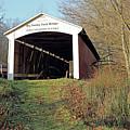 Big Rocky Fork Bridge Indiana by Steve Gass