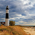 Big Sable Lighthouse #2 by Dale Niesen