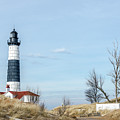 Big Sable Point Lighthouse And Tower by Sue Smith