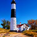 Big Sable Point Lighthouse by Nick Zelinsky
