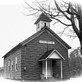 Big Sewell Baptist Church by Ola Allen
