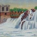 Big Sioux Falls by James Heroux