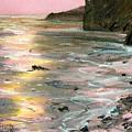 Big Sir Sunset by Donald Maier