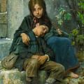 Big Sister 1890 by Padre Art