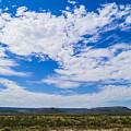 Big Sky In Pecos Valley by Craig David Morrison