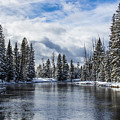 Big Springs In Winter Idaho Landscapes By Kaylyn Franks by Omaste Witkowski