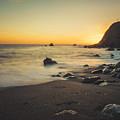 Big Sur Beach by Lynn Andrews