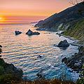 Big Sur Evening by Jens Peermann