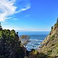 Big Sur Partington Cove by Gloria Moeller