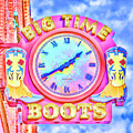 Big Time Boots - Nashville Hot Pink by Stephen Stookey