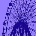 Big Wheel Blue by Eddie Barron