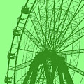 Big Wheel Green by Eddie Barron