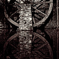 Big Wheel In Bw by Paul W Faust - Impressions of Light