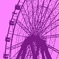 Big Wheel Purple by Eddie Barron