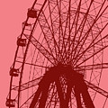 Big Wheel Red by Eddie Barron