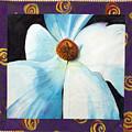 Big White Flower by Grace Matthews
