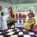 Big Wigs And False Teeth by Randy Burns