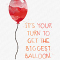 Biggest Balloon- card by Linda Woods