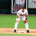 Biggio At Base 2 by Teresa Blanton