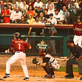 Biggio At Bat Houston Astros by Mark Grayden