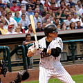 Biggio Batting by Teresa Blanton