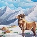 Bighorn Kam by Jean Pierre Bergoeing