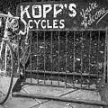 Bike At Kopp's Cycles Shop In Princeton by Ben and Raisa Gertsberg