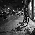 Bike Between Lights And Shadows, Netherlands by David Ortega Baglietto