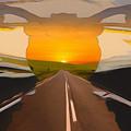 Bike Canyon Highway by Robert Barlow
