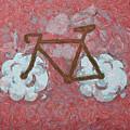Bike-cloud Red - Da by Leonardo Digenio