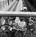 Bike Grand Concourse Bronx by Dave Beckerman