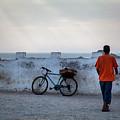 Bike In Essaouira by Henri-Louis ROLAND