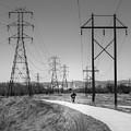 Bike Power On Platte Trail by Cary Leppert