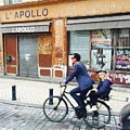 Bike Ride In Bordeaux By The Apollo by Funkpix Photo Hunter