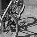 Bike Shadow by Lauri Novak