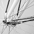 Bike Spokes by Marion McCristall