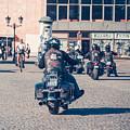 Bikers In Gdansk by Mariusz Talarek