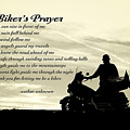 Biker's Prayer by Pam  Holdsworth