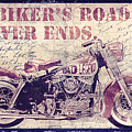 Biker's Road Never Ends by Mindy Sommers