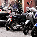 Bikes And Scooters by John Rizzuto