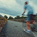 Bikes In Motion Near Durrow 1 by Marc Daly