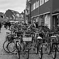 Bikes Of Skagen by Bruce E Dall