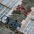 Bikes On The Wall by Helen Northcott