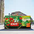 Bilboard Of Exit Festival 2015 In City Center Of Novi Sad by Newnow Photography By Vera Cepic