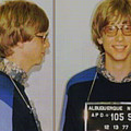 Bill Gates Mug Shot Horizontal Color by Tony Rubino