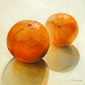 Billes Oranges by Muriel Dolemieux