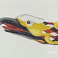 Billet Head: Eagle by Dorothy Van Dunker